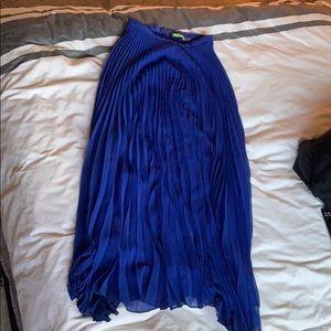 Alice & Olivia Pleated Maxi Skirt